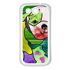 Pug Samsung Galaxy S3 Back Case (White)