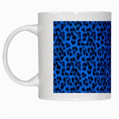 Leopard Print White Coffee Mug