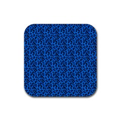 Leopard Print Drink Coasters 4 Pack (Square)