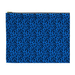 Leopard Print Cosmetic Bag (XL)
