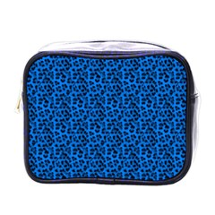 Leopard Print Mini Travel Toiletry Bag (One Side)