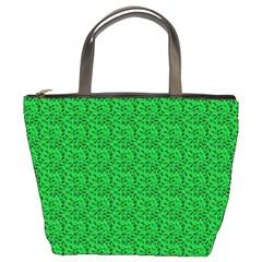 Leopard Print Bucket Handbag