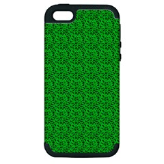 Leopard Print Apple iPhone 5 Hardshell Case (PC+Silicone)