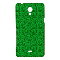 Leopard Print Sony Xperia T Hardshell Case