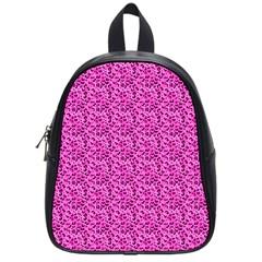 Leopard Print School Bag (Small)