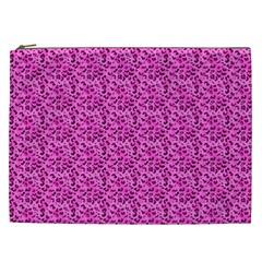 Leopard Print Cosmetic Bag (XXL)