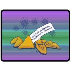 Ill Fortune Fleece Blanket (Extra Large)