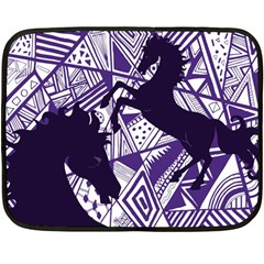 Year of the HORSE Mini Fleece Blanket (Two Sided)