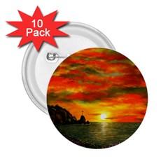 Alyssa s Sunset by Ave Hurley ArtRevu - 2.25  Button (10 pack)