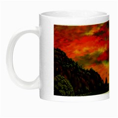 Alyssa s Sunset by Ave Hurley ArtRevu - Night Luminous Mug