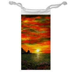 Alyssa s Sunset by Ave Hurley ArtRevu - Jewelry Bag