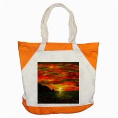 Alyssa s Sunset By Ave Hurley Artrevu   Accent Tote Bag