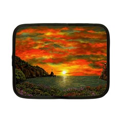 Alyssa s Sunset By Ave Hurley Artrevu   Netbook Case (small)