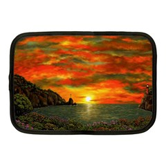 Alyssa s Sunset by Ave Hurley ArtRevu - Netbook Case (Medium)