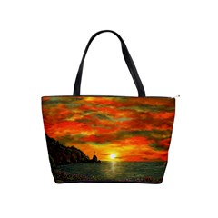 Alyssa s Sunset By Ave Hurley Artrevu   Classic Shoulder Handbag