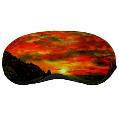 Alyssa s Sunset by Ave Hurley ArtRevu - Sleeping Mask