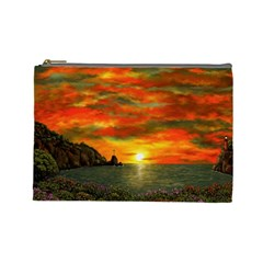 Alyssa s Sunset By Ave Hurley Artrevu   Cosmetic Bag (large)
