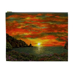 Alyssa s Sunset by Ave Hurley ArtRevu - Cosmetic Bag (XL)