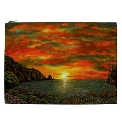 Alyssa s Sunset By Ave Hurley Artrevu   Cosmetic Bag (xxl)