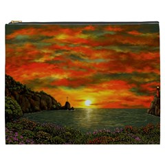 Alyssa s Sunset By Ave Hurley Artrevu   Cosmetic Bag (xxxl)