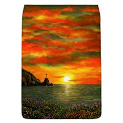 Alyssa s Sunset By Ave Hurley Artrevu   Removable Flap Cover (l)