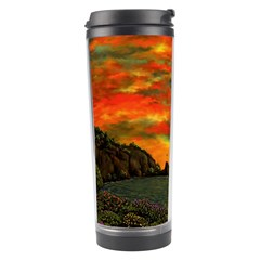 Alyssa s Sunset By Ave Hurley Artrevu   Travel Tumbler