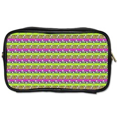 Animal Print Travel Toiletry Bag (One Side)