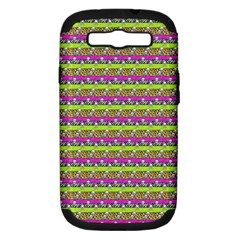 Animal Print Samsung Galaxy S III Hardshell Case (PC+Silicone)