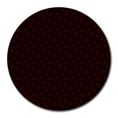 Ants 8  Mouse Pad (Round)