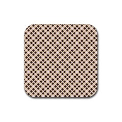 Plaid  Drink Coasters 4 Pack (Square)