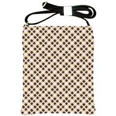 Plaid  Shoulder Sling Bag