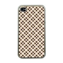 Plaid  Apple iPhone 4 Case (Clear)
