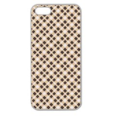 Plaid  Apple Seamless iPhone 5 Case (Clear)