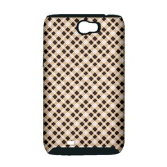 Plaid  Samsung Galaxy Note 2 Hardshell Case (PC+Silicone)