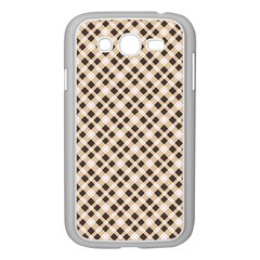 Plaid  Samsung Galaxy Grand DUOS I9082 Case (White)