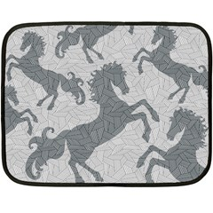 Year Of The Horse Ii Mini Fleece Blanket (single Sided)