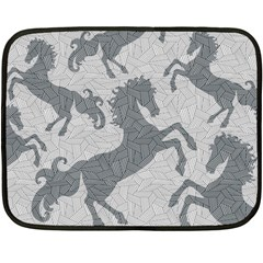 Year of the HORSE II Mini Fleece Blanket (Two Sided)