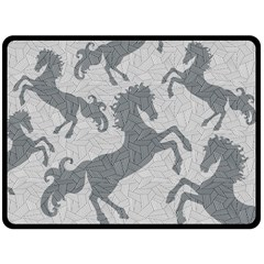 Year of the HORSE II Fleece Blanket (Extra Large)