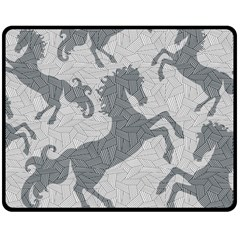 Year of the HORSE II Fleece Blanket (Medium)