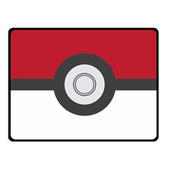Pokeball Blanket Fleece Blanket (small)