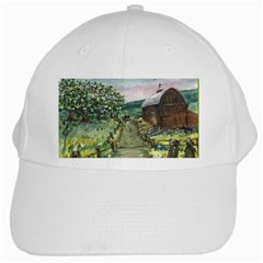 Amish Apple Blossoms  by Ave Hurley of ArtRevu ~ White Cap