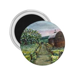 Amish Apple Blossoms  by Ave Hurley of ArtRevu ~ 2.25  Magnet