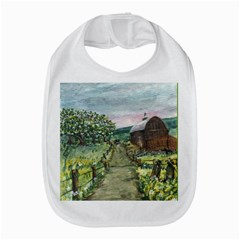 Amish Apple Blossoms  by Ave Hurley of ArtRevu ~ Bib