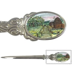 Amish Apple Blossoms  by Ave Hurley of ArtRevu ~ Letter Opener