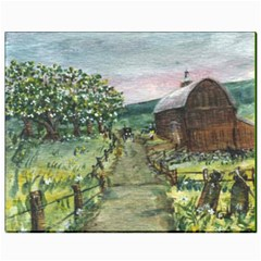 amish Apple Blossoms  By Ave Hurley Of Artrevu   Canvas 8  X 10