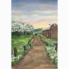 amish Apple Blossoms  By Ave Hurley Of Artrevu   Canvas 12  X 18