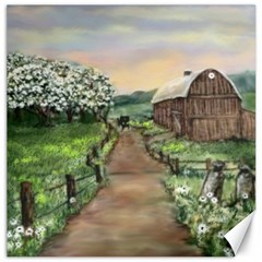 Amish Apple Blossoms  by Ave Hurley of ArtRevu ~ Canvas 20  x 20