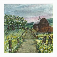 amish Apple Blossoms  By Ave Hurley Of Artrevu   Medium Glasses Cloth