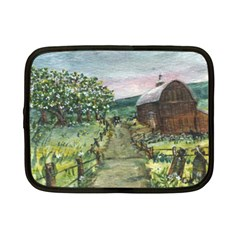Amish Apple Blossoms  by Ave Hurley of ArtRevu ~ Netbook Case (Small)