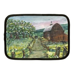 Amish Apple Blossoms  by Ave Hurley of ArtRevu ~ Netbook Case (Medium)